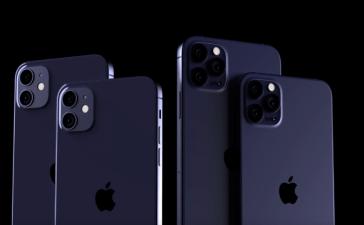 apple iphone 12 navy blue