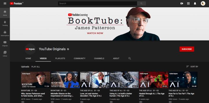 YouTube Premium Feature: YouTube Originals