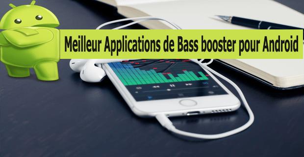 Meilleur Applications de Bass booster pour Android