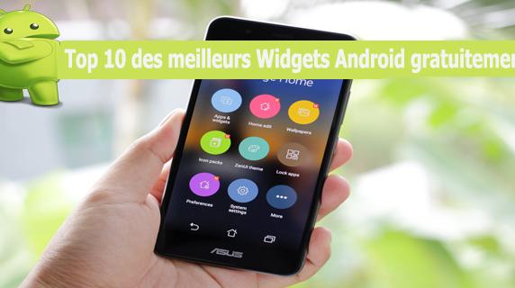 Top 10 des meilleurs Widgets Android gratuitement