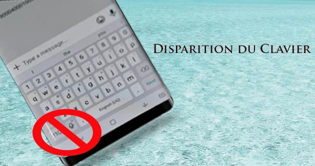 Réparer le Clavier Samsung Galaxy Note 9 Disparaît Lors de L'écriture