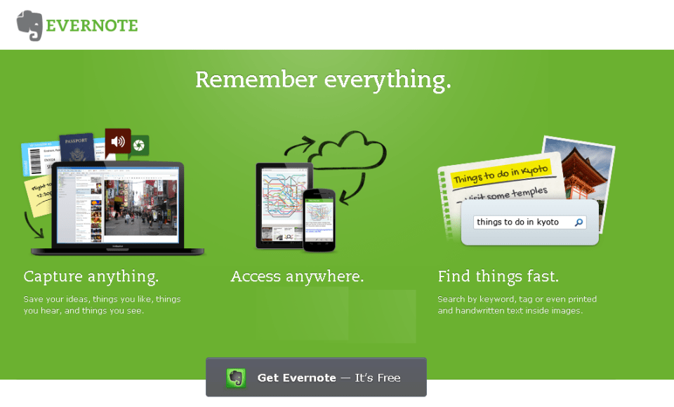 Evernote,Best-app-for-taking-notes
