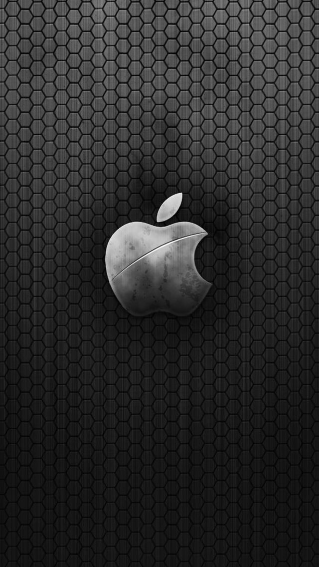 Metal-Apple-Logo-iphone5-wallpaper-WowWindows8_com