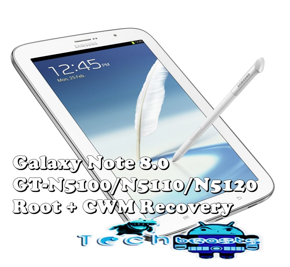 Root and Install CWM Recovery on Samsung Galaxy Note 8 0 [How to