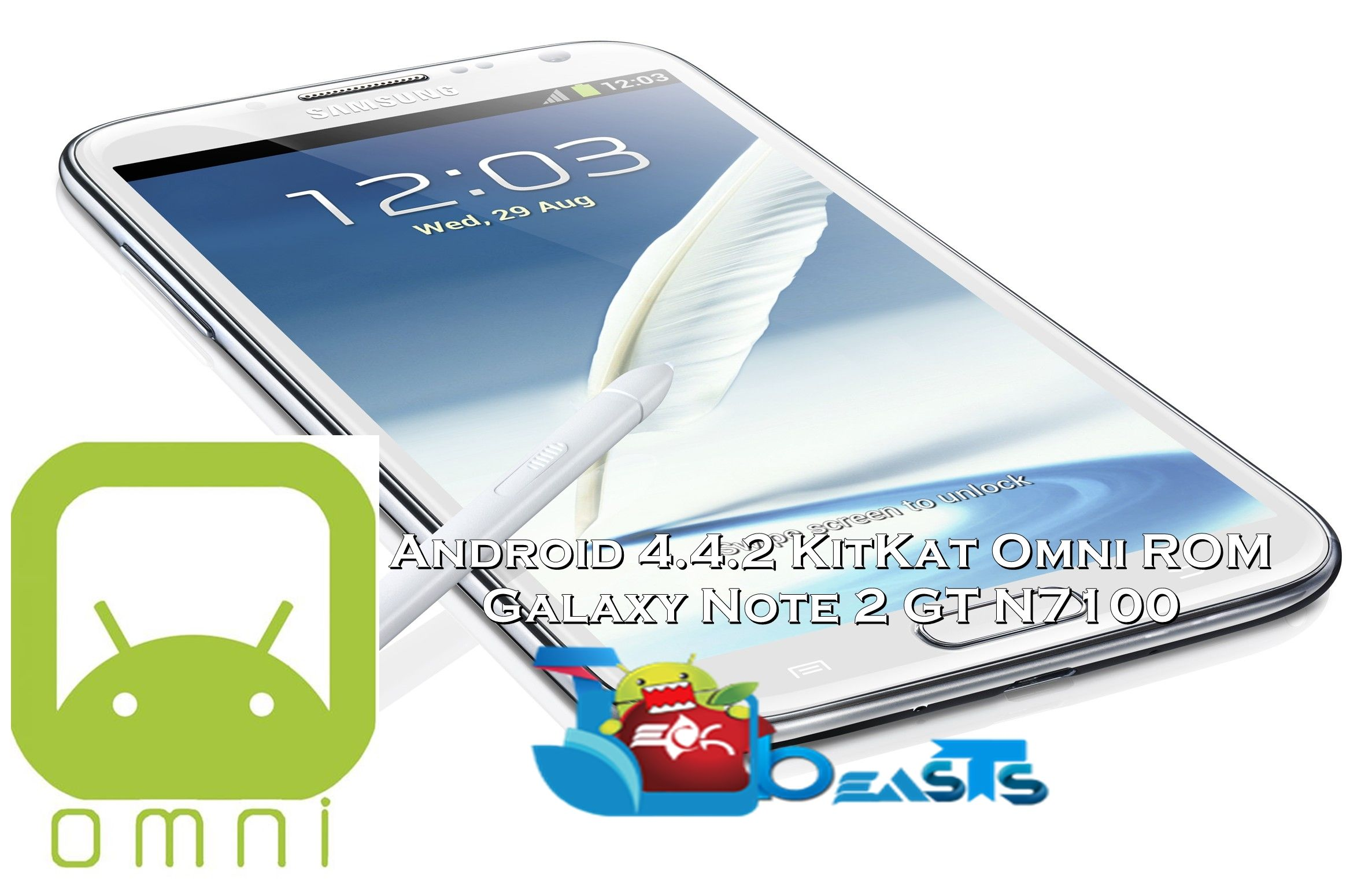 Install Android 4 4 2 on Galaxy Note 2 GT-N7100 using Omni ROM