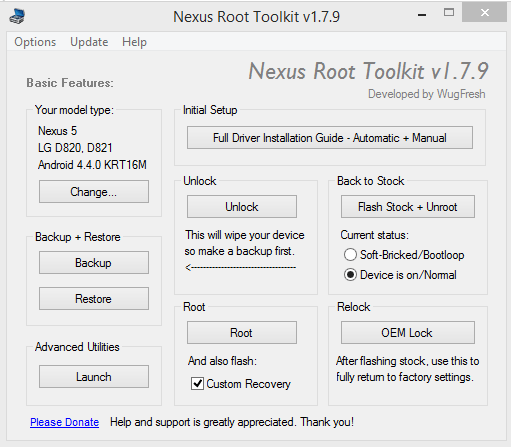 MainMenu_Root ToolKit