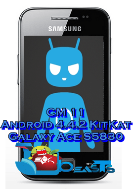 Install Android 4 4 2 KitKat on Samsung Galaxy Ace using CM 11