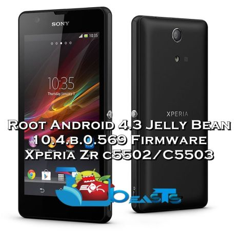 Xperia ZR Android 4.3 Root