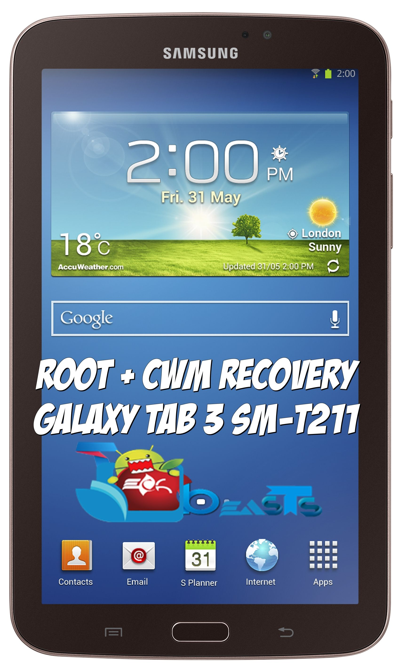 How to Root and Install CWM Recovery on Samsung Galaxy Tab 3