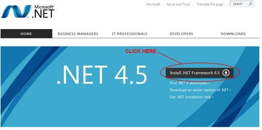 .Net Framework 4.5.1 on Windows 10