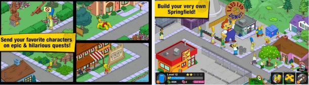 Simpsons Tapped Out for PC