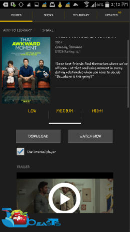Watch Movies Free On Android ©Techbeasts