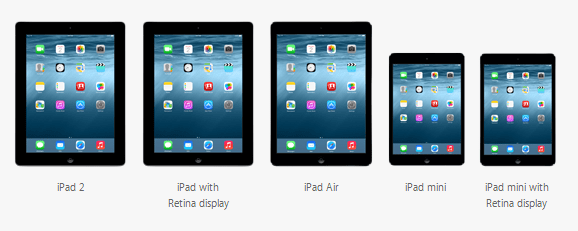 ios compatible ipads