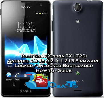 Root Xperia TX .215 Firmware