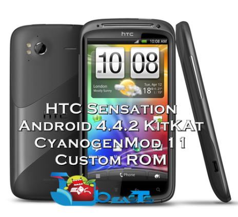 HTC Sensation Android KitKat