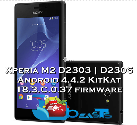 firmware sony xperia m2 d2306 telcel