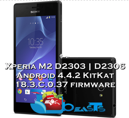 Xperia M2 D2303 D2306 Android KitKat