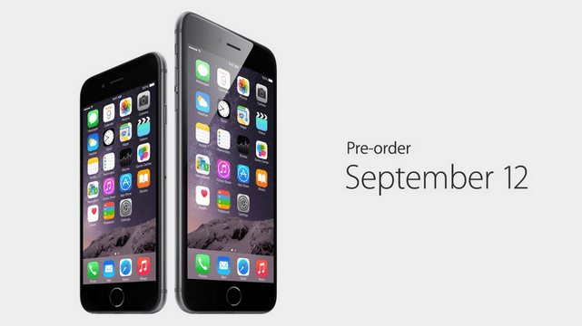 iPhone 6 Availaility