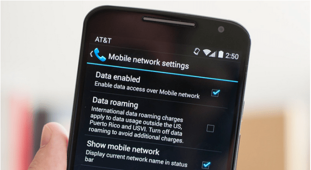 hide network name on Moto X
