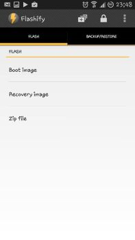 How To Use Flashify To Install Custom Recovery, Kernel [ img/ zip files]