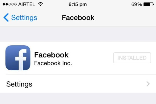 How to Use Facebook Profile Pictures on Contacts of your iPhone