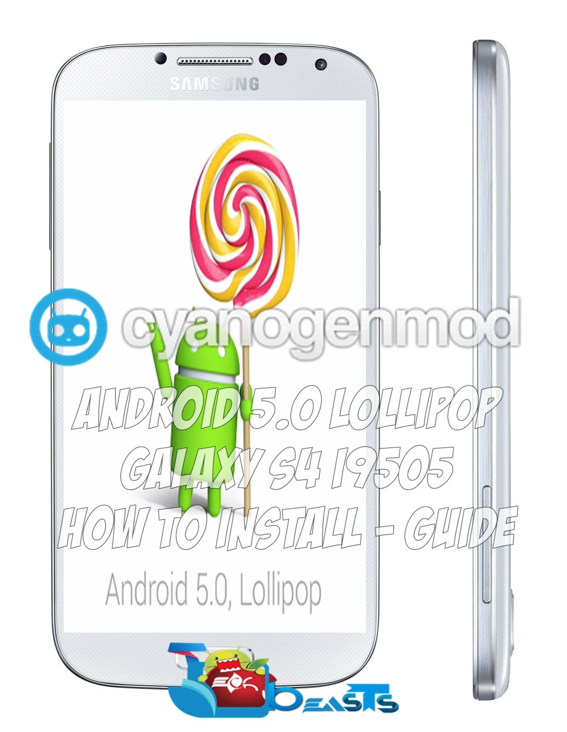 Install Android 5 0 Lollipop On Galaxy S4 I9505 With