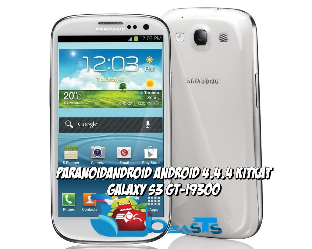 Update Galaxy S3 I9300 To Android 4 4 4 KitKat With Paranoid Android ROM