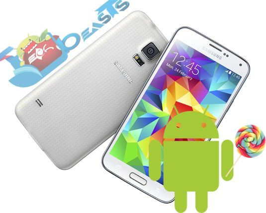 Update Samsung Galaxy S5 SM-G900S to Android 5.0 Lollipop