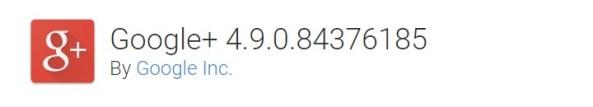 Download Google+ v4.9.0.84376185 Apk