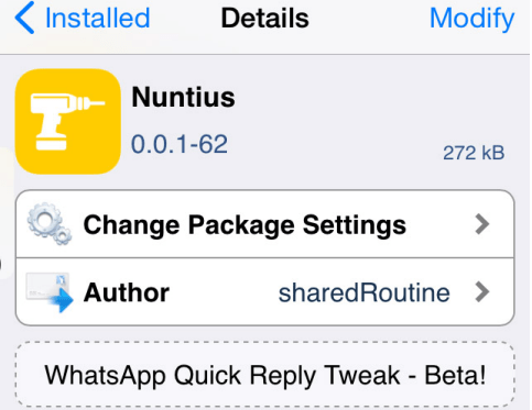 Enable Quick Reply for WhatsApp in iOS 8 with Nuntius