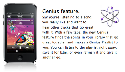 iOS 8 Music App, Create a Genius Playlist in iPhone