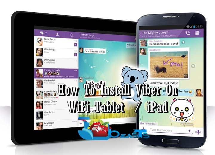 How To Install Viber On Your WiFi Tablet or iPad