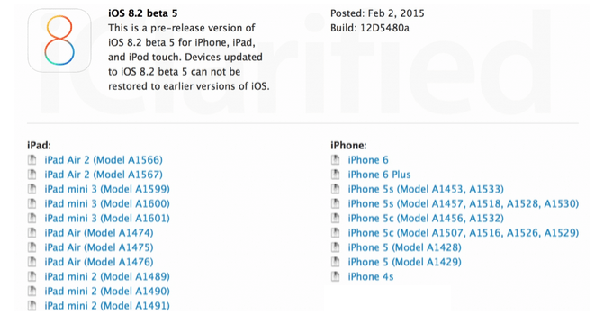 The-fifth-beta-version-of-iOS-8.2-has-been-released-1
