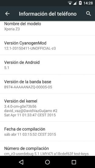 Install Android 5.1.1 CM12.1 Lollipop on Sony Xperia Z3
