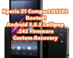 xperia z1 compact lollipop root