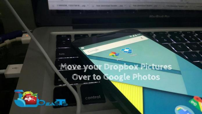 Move your Dropbox pictures over to Google Photos