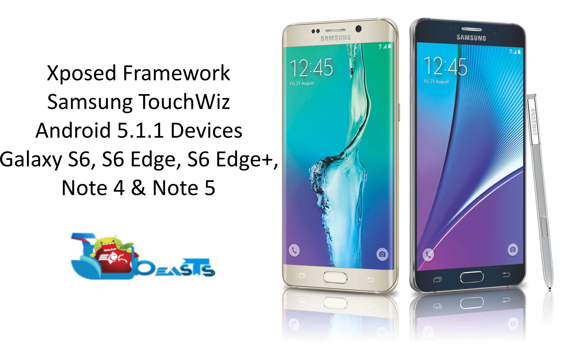 How To Install Xposed Framework On Galaxy S6, S6 Edge, Note