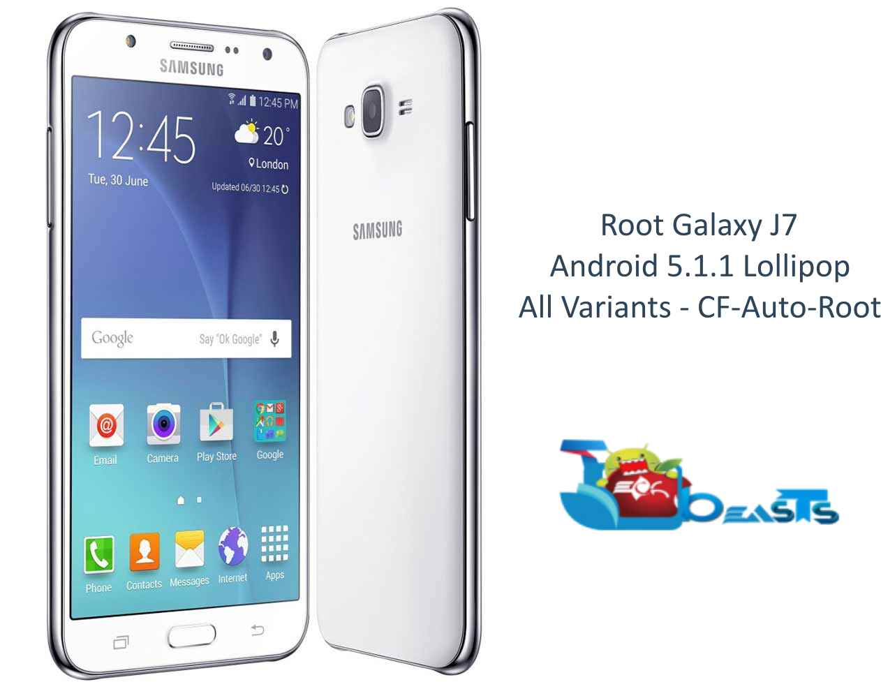 How To Root Samsung Galaxy J7 on Android 5 1 1 Lollipop