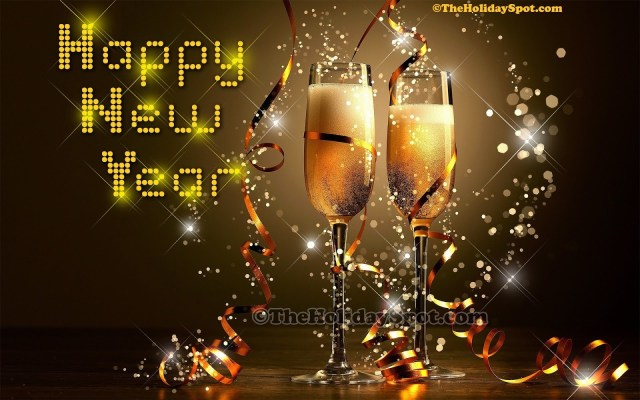 happy new year wallpaper mobile