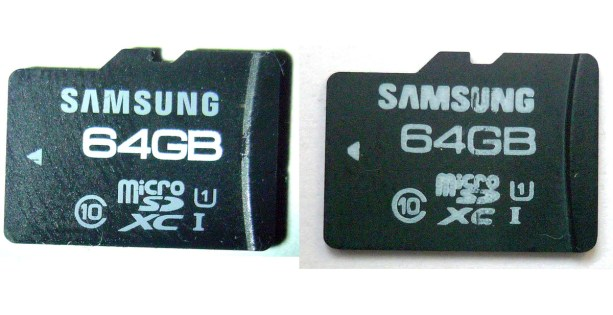 A-genuine-microSD-card-next-to-a-counterfeit