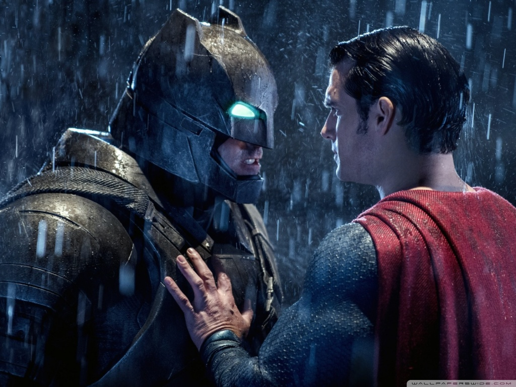 Batman Superman Face Off Wallpaper 1024x768 Get More Free HD Wallpapers
