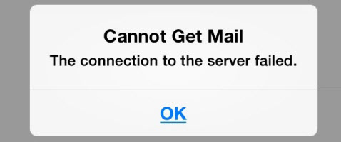 cannot-get-mail-server-failed