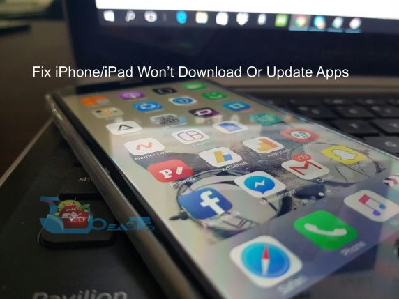 Fix iPhone/iPad Won't Download Or Update Apps
