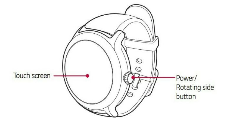 Manual for LG Watch Sport and Watch Style leak confirming