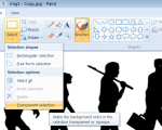 Make Image Background Transparent In Paint