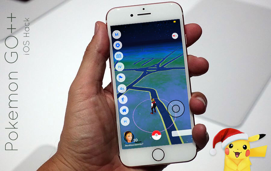 pokemon go hack joystick ios download