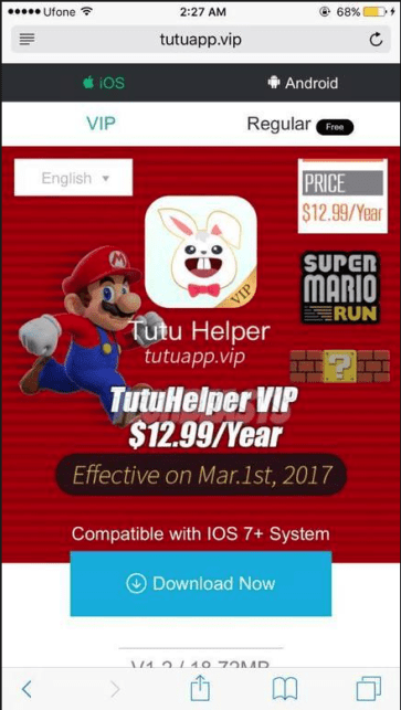 Install TuTuApp Helper On iOS 10 Without Jailbreak