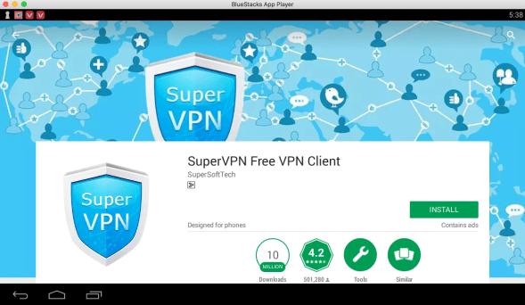 Super VPN for PC download