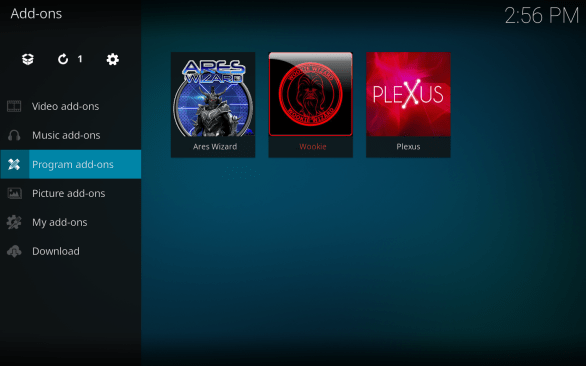 Install Mammoth Build Kodi 17 Krypton.