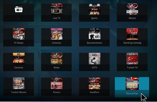 Install UK Turk Playlists Add-on Kodi 17.3 Krypton